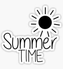 Summer Time Pegatina