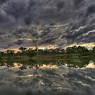 """River View """"Sun Rise"""" by Dave  Hartley"""