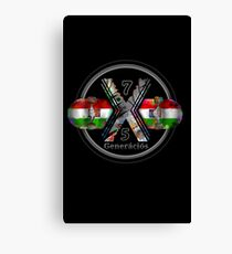 Made in Hungary 1975 Generation X Canvas Print