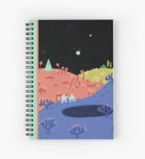 Moon Walk Spiral Notebook