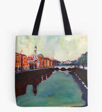 Liffey, Arran Quay and Ushers Quay - Dublin Tote Bag