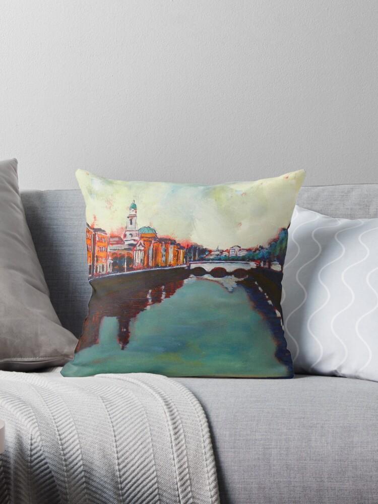 Liffey, Arran Quay and Ushers Quay - Dublin by eolai