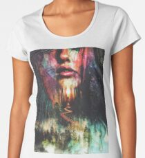 Into the Illusion Forest Women's Premium T-Shirt
