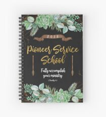 Pioneer Service School 2018 (Design no. 9) Spiral Notebook