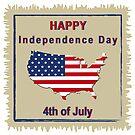 Happy Independence Day von Stefanie Keller
