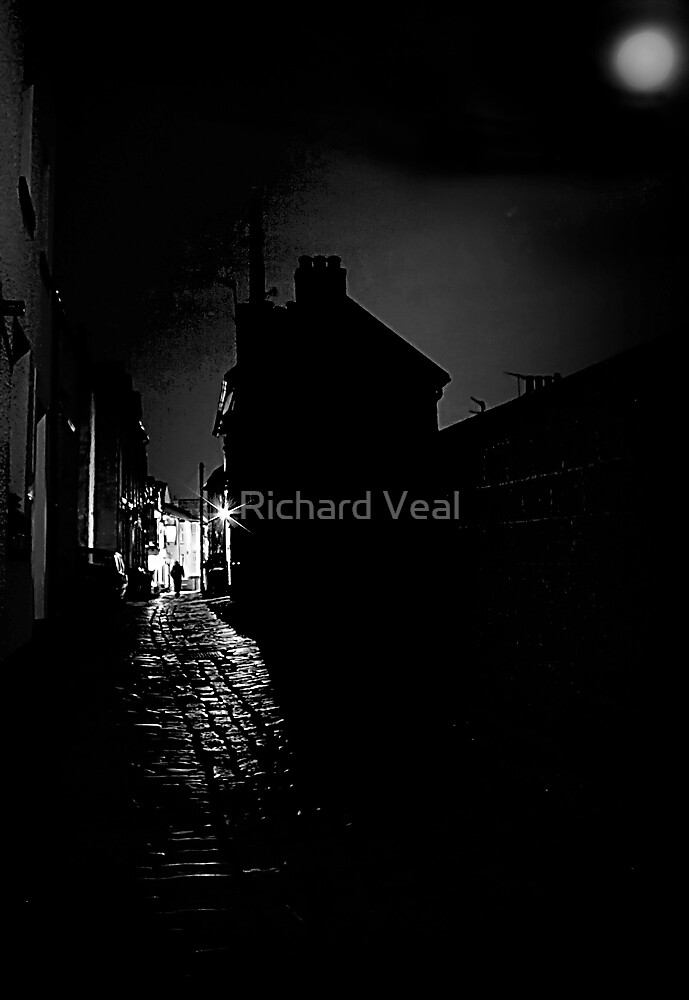 Cobbles by Moonlight by Richard Hamilton-Veal