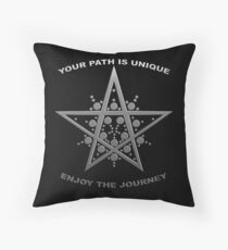 Every Path is Unique Throw Pillow