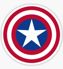 The Captain Shield Sticker
