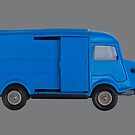 Citroen H Van Toy Right Side by Flo Smith