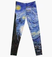 Starry Night Leggings Phone Case T Shirt - Vincent Van Gogh Leggings