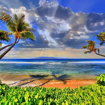 Paradise Found - Kaanapali Beach by djphoto