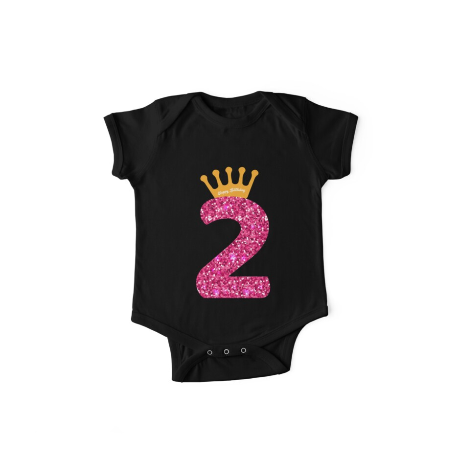 2nd Queens Crow Happy Birthday For Girls