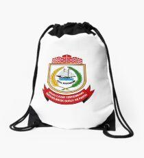 Seal of Makassar, Indonesia Drawstring Bag