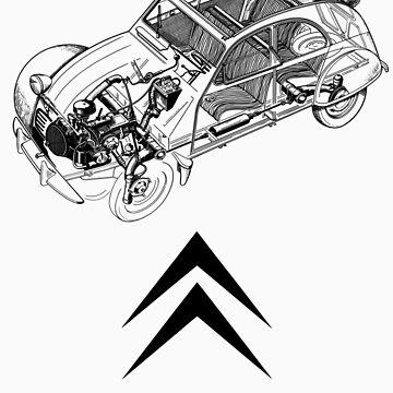 Citroën 2CV by fleros