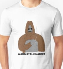 freche große Lezshow Slim Fit T-Shirt
