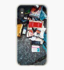 the nostalgic trash iPhone Case