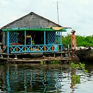 Tonle Sap River by Jimmy Jobson