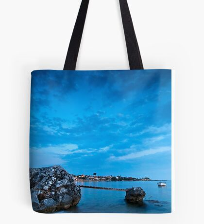 Stoupa in blue Tote Bag