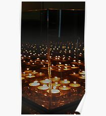 Marching Candle Mirror Reflections ... Series 1 Poster