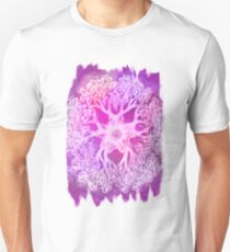 Psychedelic Purple Ink Octopus Blob T-Shirt