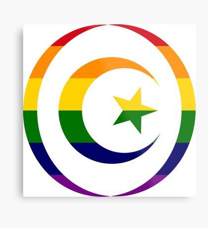 Muslim (Rainbow) Metal Print