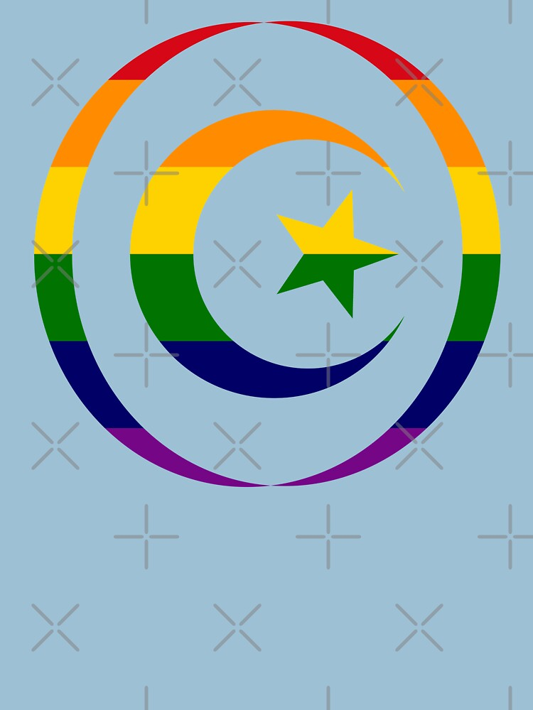 Muslim (Rainbow) Third Culture Series by carbonfibreme
