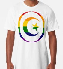 Muslim (Rainbow) Third Culture Series Long T-Shirt