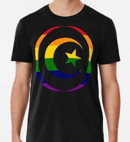 Muslim (Rainbow) Men's Premium T-Shirt
