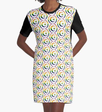 Muslim (Rainbow) Graphic T-Shirt Dress