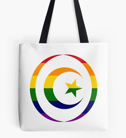 Muslim (Rainbow) Tote Bag