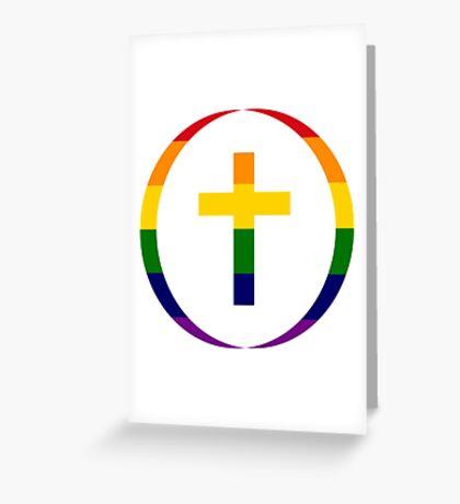 Christian (Rainbow) Greeting Card