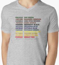 Happy Little Colors Men's V-Neck T-Shirt
