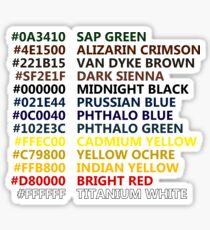 Happy Little Colors Sticker