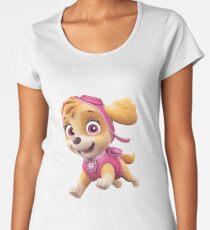 PAW Patrol Skye Running Women's Premium T-Shirt