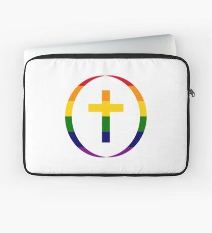 Christian (Rainbow) Laptop Sleeve