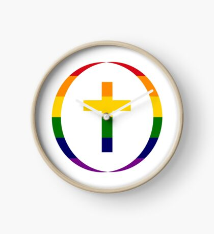 Christian (Rainbow) Clock