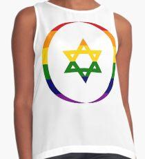 Jewish (Rainbow) Third Culture Series Sleeveless Top