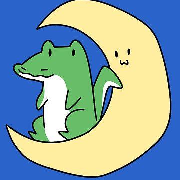 Crecent Moon Alligator  by SaradaBoru