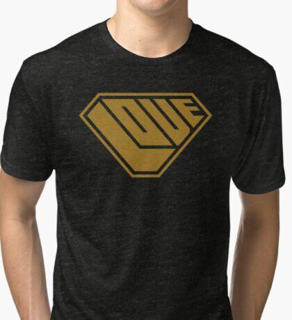Love SuperEmpowered (Gold) Tri-blend T-Shirt