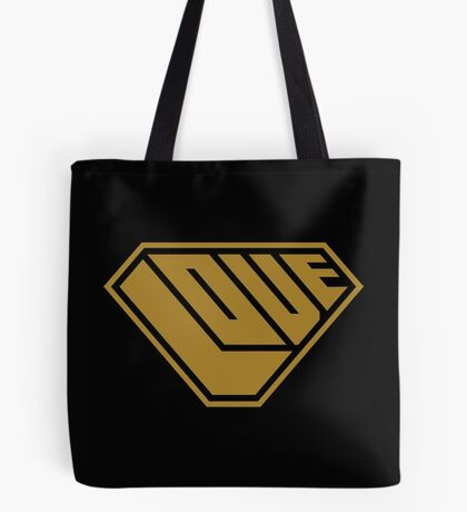Love SuperEmpowered (Gold) Tote Bag
