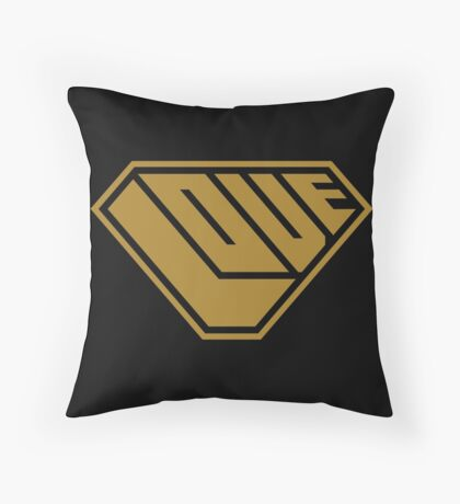 Love SuperEmpowered (Gold) Floor Pillow