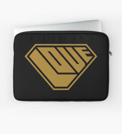 Love SuperEmpowered (Gold) Laptop Sleeve