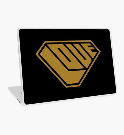 Love SuperEmpowered (Gold) Laptop Skin