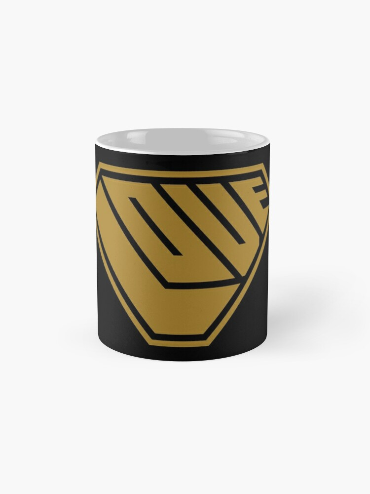 Alternate view of Love SuperEmpowered (Gold) Classic Mug