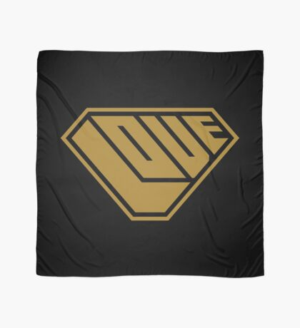 Love SuperEmpowered (Gold) Scarf