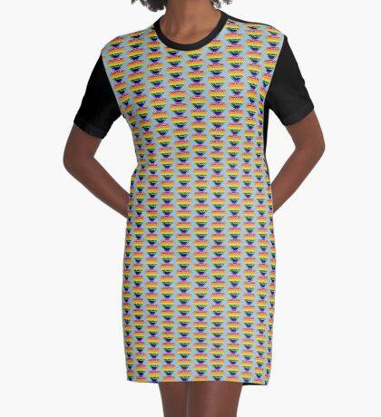 Love SuperEmpowered (Rainbow) Graphic T-Shirt Dress