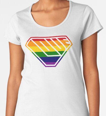 Love SuperEmpowered (Rainbow) Women's Premium T-Shirt