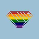 Love SuperEmpowered (Rainbow) by Carbon-Fibre Media