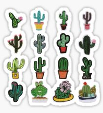 Cacti Succulents Plant Pack Sticker