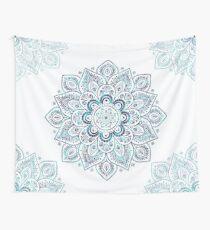 Mandala eisige Kälte Wandbehang